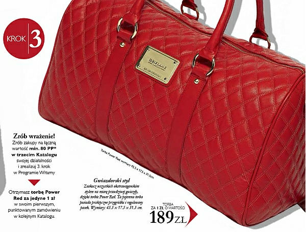 Torba Power Red Oriflame