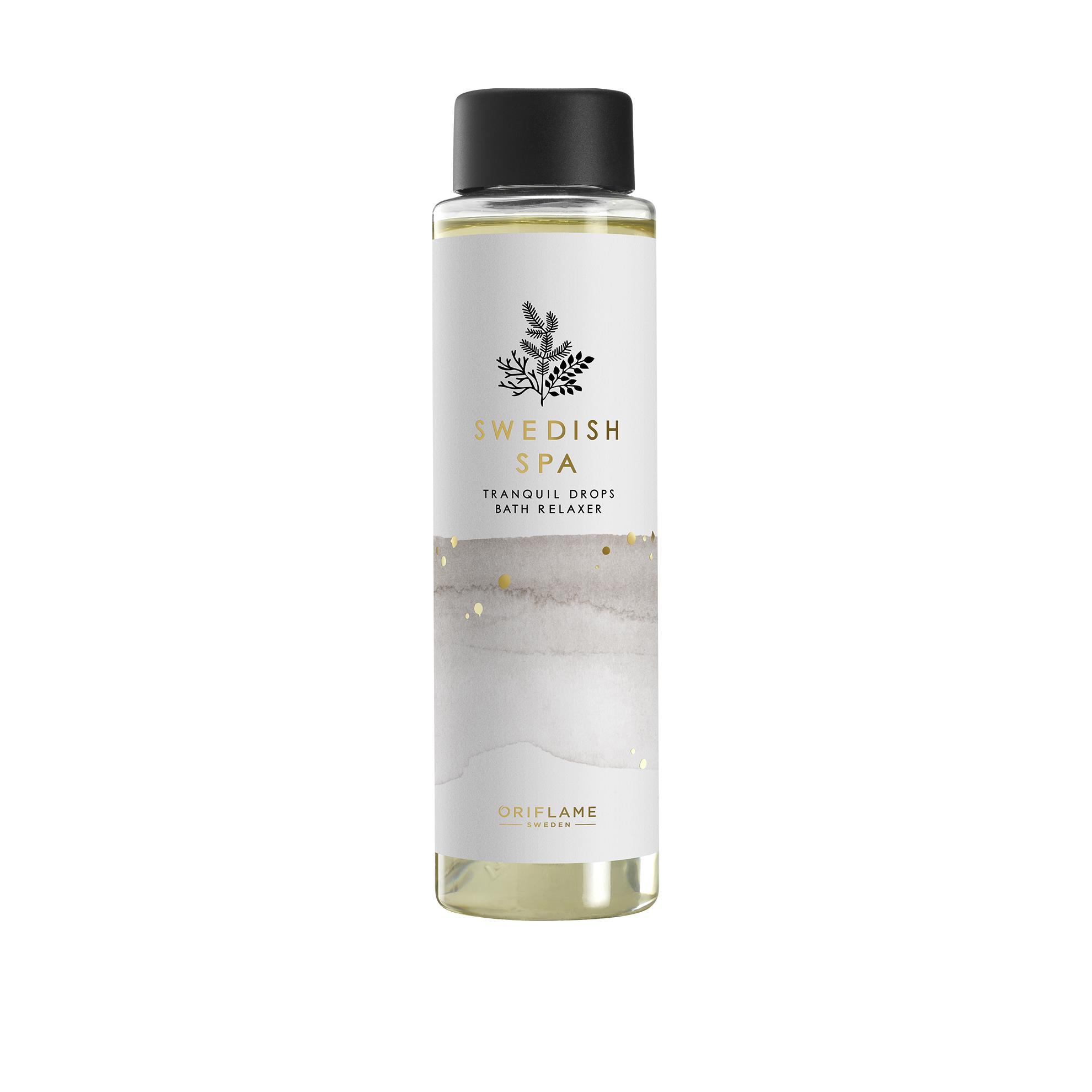 Relaksujący olejek do kąpieli Swedish Spa Tranquil Drops